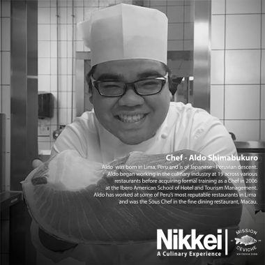 Chef Aldo Shimabukuro